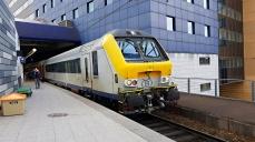 EMU řady SNCB13 státního dopravce NMBS/NMBS Holding. Foto: Dopravní Magazín - Roman Petrlík
